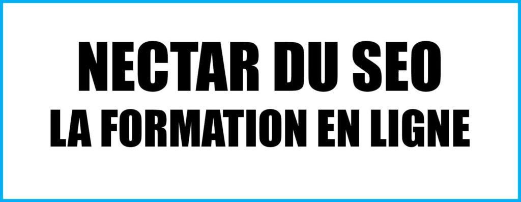 NECTAR DU SEO - Formation en ligne