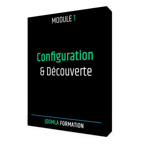 Formation en ligne Joomla configuration