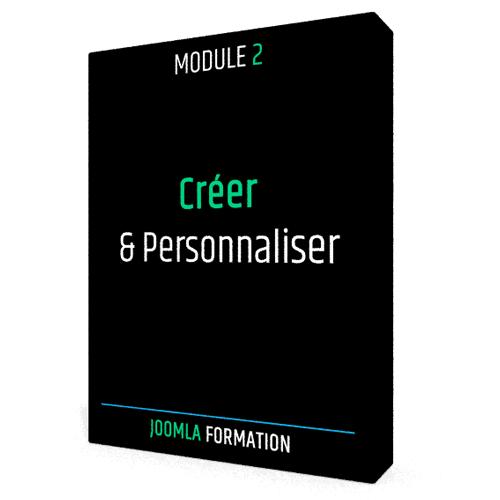Formation en ligne Joomla personnaliser
