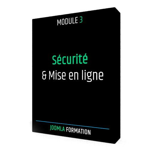 Formation en ligne Joomla Securité