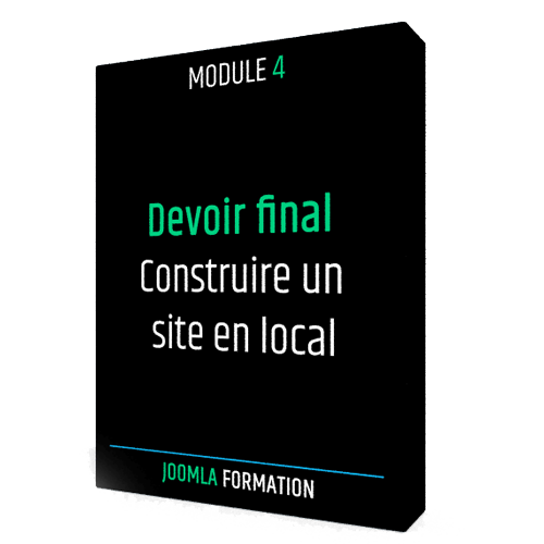 Formation en ligne Joomla final